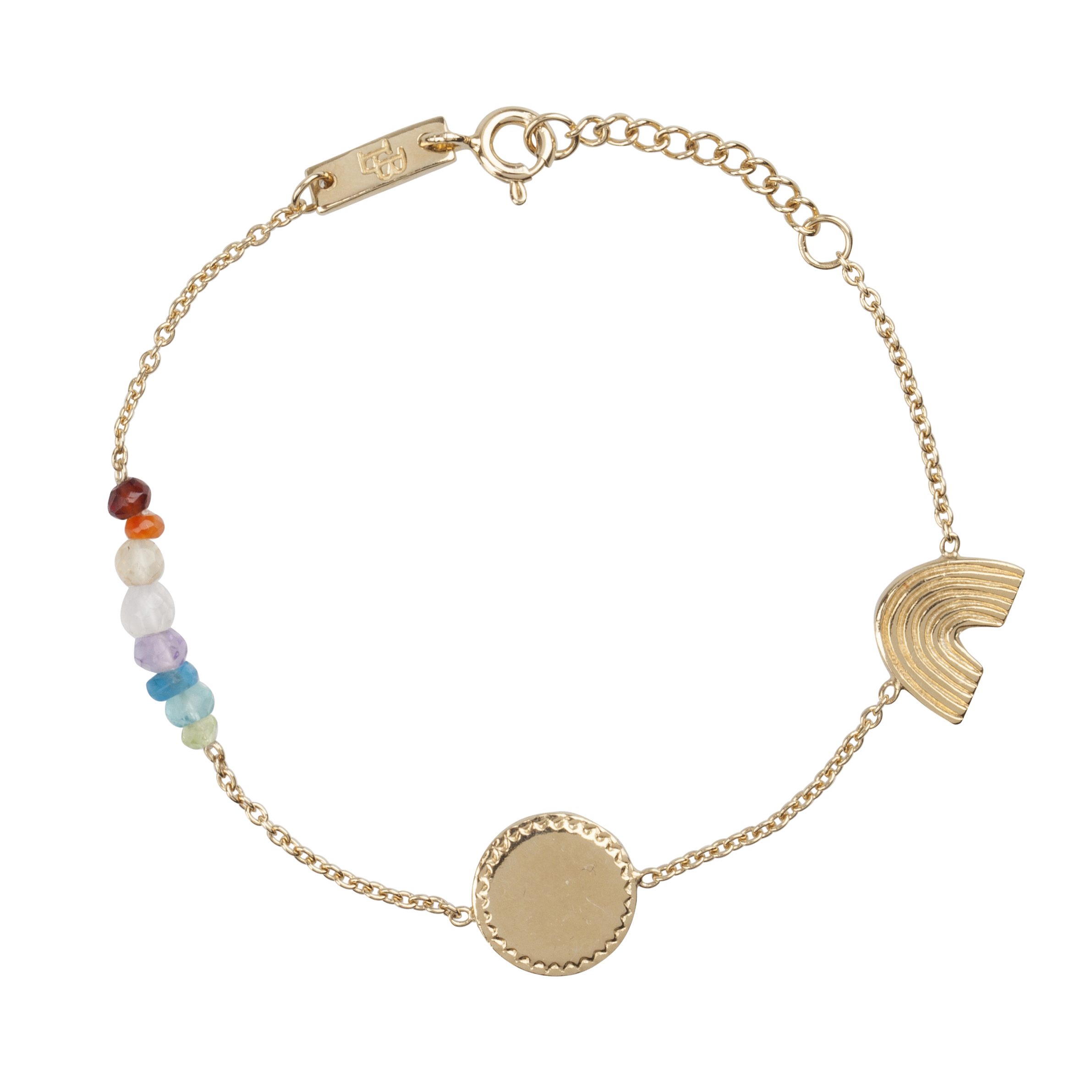 Lennebelle She Is A Rainbow Giftset - Gold-Plated jC8XLMGC