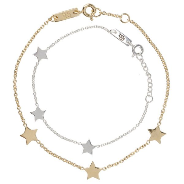 Daydreamers-You-Are-My-Shining-Star-Giftset-Bracelets-Mother-Daughter-Silver-Gold-Plated