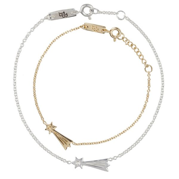 Daydreamers-You-Make-My-Wishes-Come-True-Giftset-Bracelets-Mother-Daughter-Gold-Plated-Silver