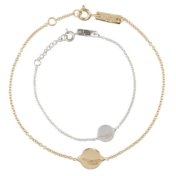 Daydreamers-You-Saturned-My-Life-Around-Giftset-Bracelets-mother-Daughter-Silver-Gold-Plated