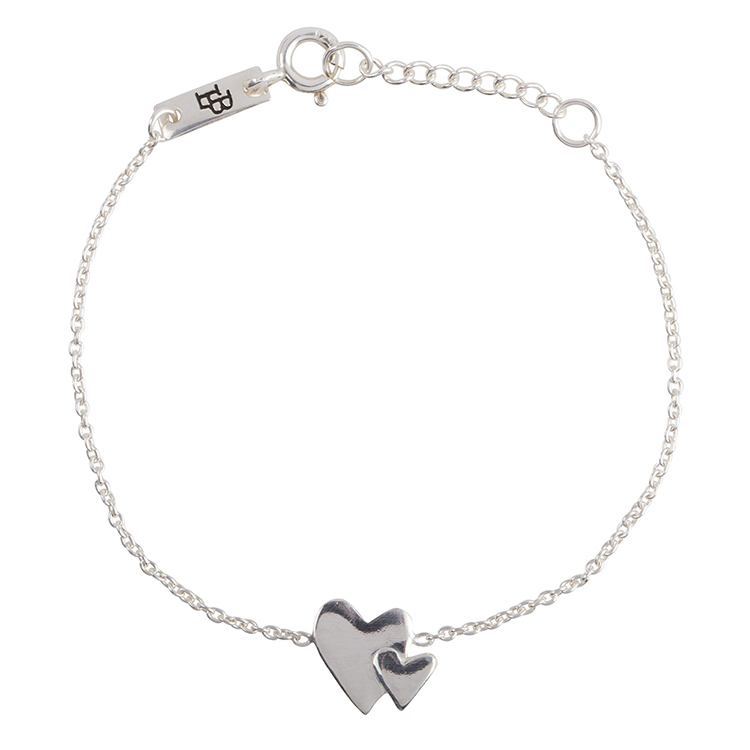 Our-hearts-beat-as-one-tochter-armband-silber