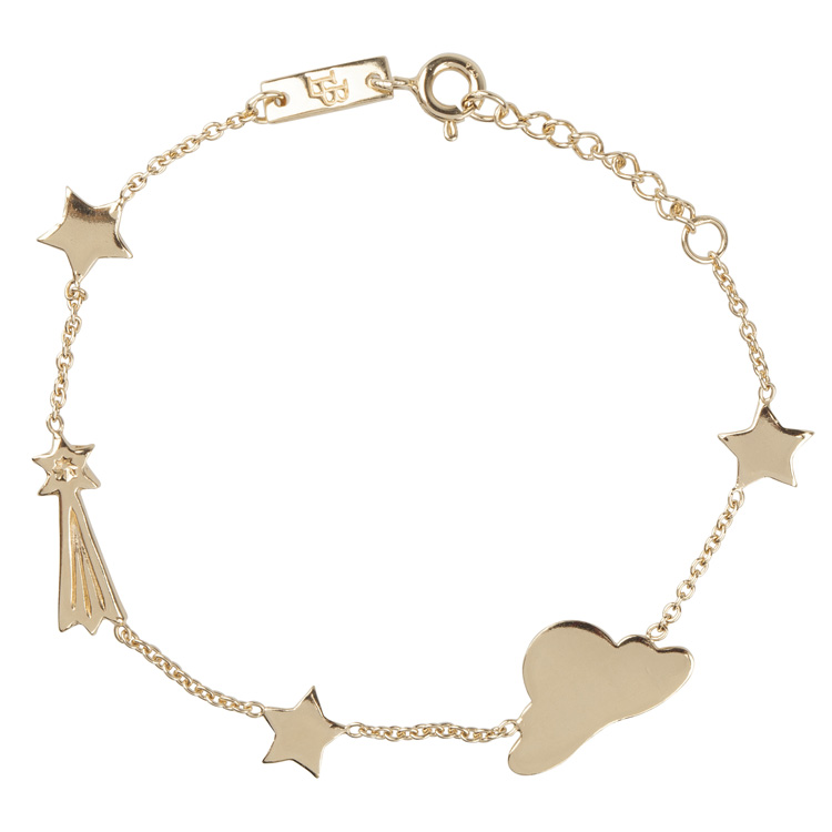 Bracelet fille - Stargazer plaqué or Lennebelle Petites