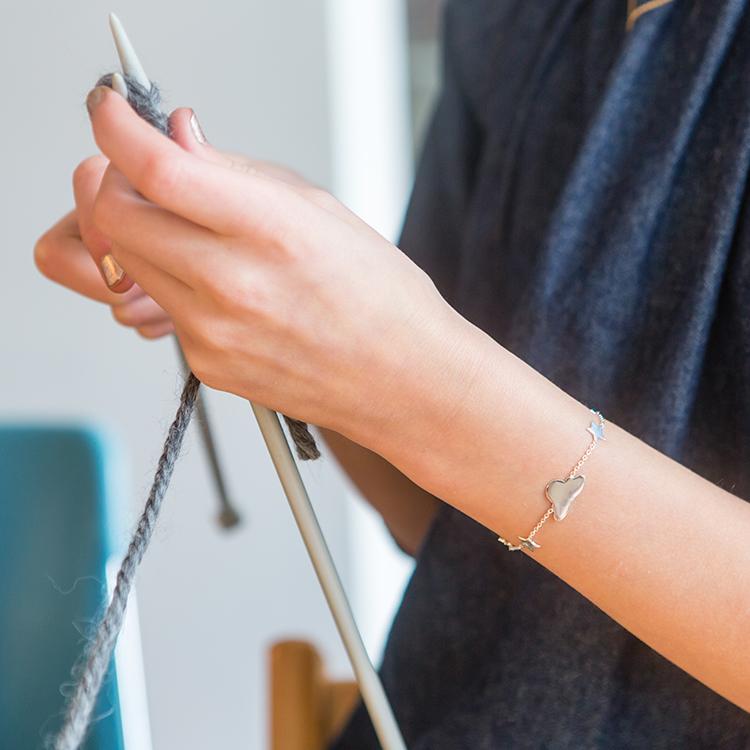 Bracelet fille - Stargazer argent Lennebelle Petites