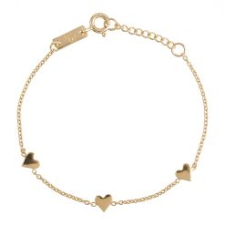 You-are-loved-daughter-bracelet-gold-plated