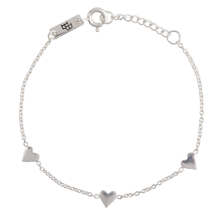Bracelet fille - You are loved argent