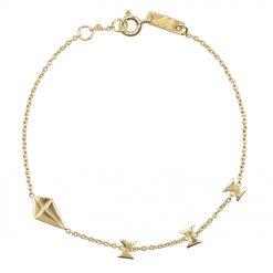 Bracelet mère go with the flow or plaque