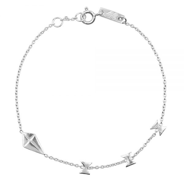 Mutter armband Go with flow silber