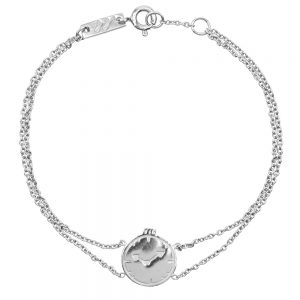 Mutter armband Take 5 silber