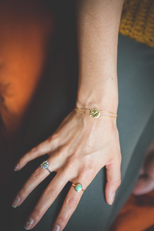 Take 5 armband detail