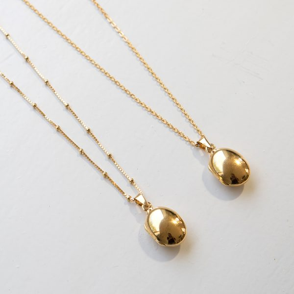 necklaces ball chain simple chain
