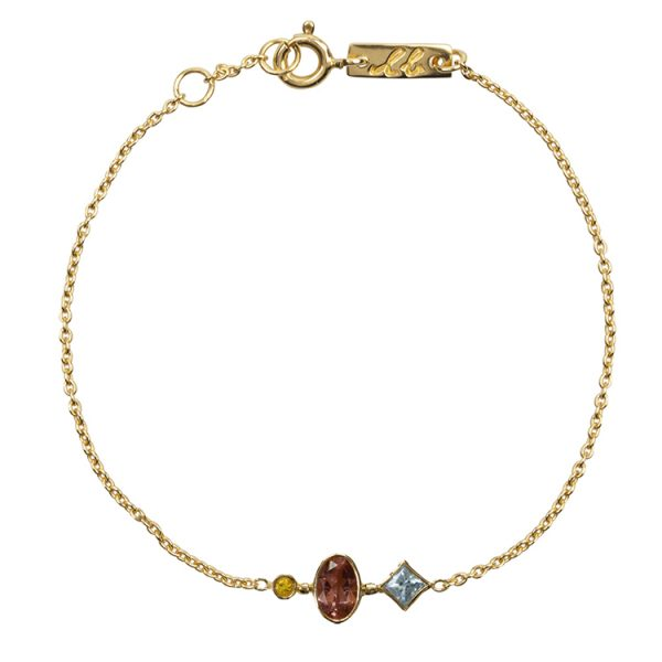Patience bracelet gemstone collection