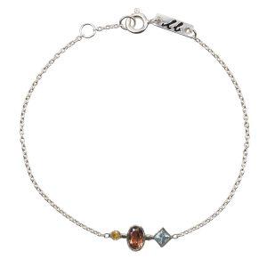 Patience mother bracelet silver