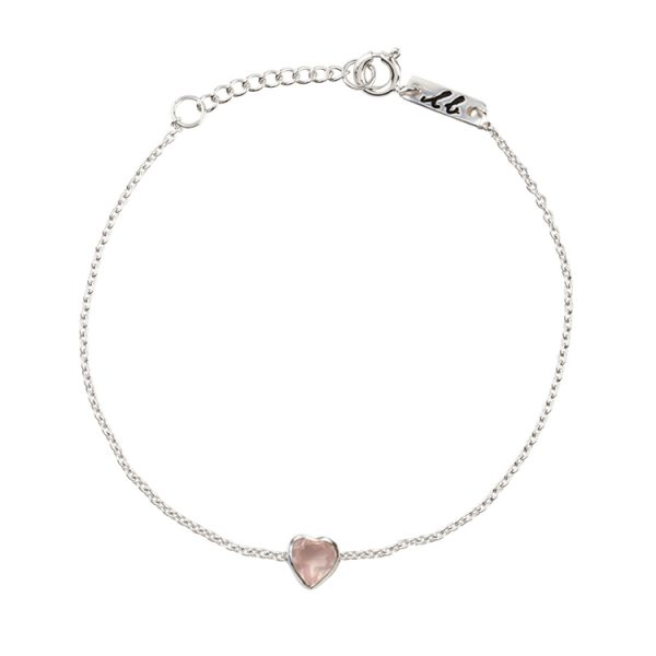 Pure love daughter bracelet silver