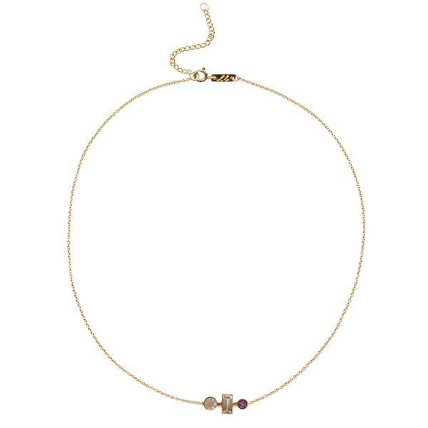 Love & Harmony necklace gold plated