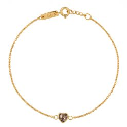 Smokey quarts heart mother gold plated website