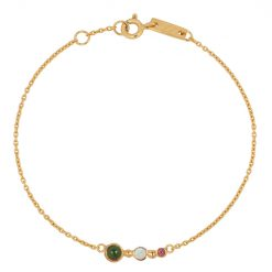 Opal bracelet gold mother